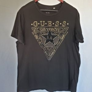 Guess Los Angeles LA question mark t shirt
